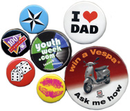 Colour Button Badges