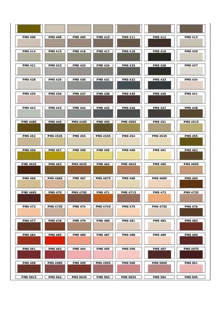 Pantone Metallic Color Chart Online Rebellions